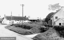 Parkham, View From Buckland Road c.1955