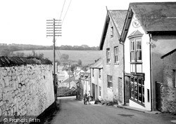 Old Post Office c.1950, Parracombe