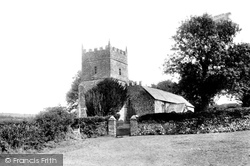 The Old Church Of St Petrock's 1907, Parracombe