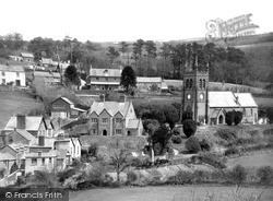 The Village c.1950, Parracombe