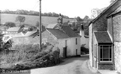 The Village c.1955, Parracombe
