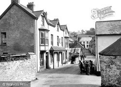The Village Street c.1950, Parracombe