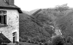 View From Youth Hostel c.1960, Parracombe