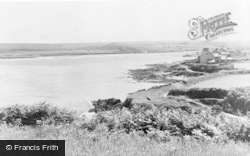 Parrog, From Dinas c.1955
