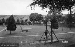 Pateley Bridge, Children's Playground c.1955