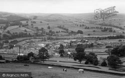 Pateley Bridge, General View c.1955