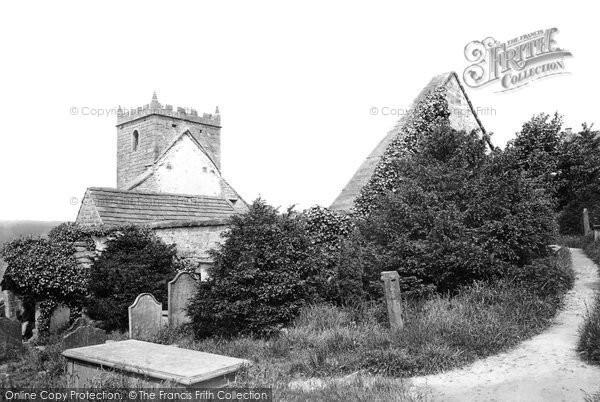 Photo of Pateley Bridge, Old Church 1893, ref. 32025