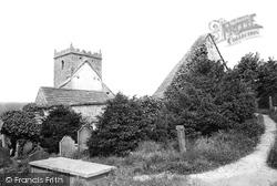 Pateley Bridge, Old Church 1893