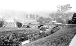 Pateley Bridge, The Bridge 1893