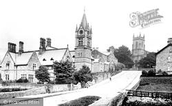 Pateley Bridge, The Church And Board Schools 1893