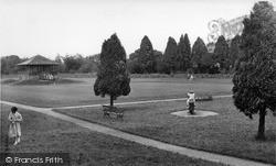 Pateley Bridge, The Recreation Ground c.1955