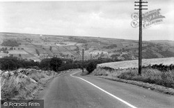 Pateley Bridge, View From Red Brae c.1955