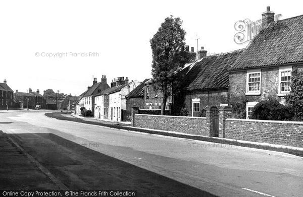 Patrington, North Side c1955