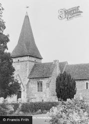 Patrixbourne, St Mary's Church c.1955