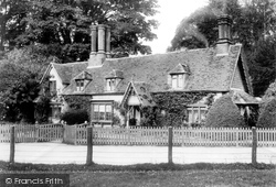 Patrixbourne, Waterfall Cottages 1903