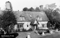 Patrixbourne, Waterfall Cottages c.1950