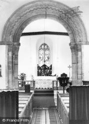 Pauntley, Church Interior c.1960