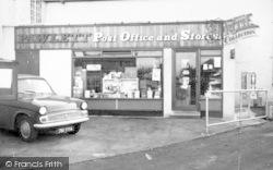 Pawlett, Post Office Stores c.1960