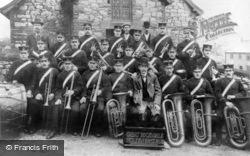 Great Rocksdale Wesleyan Brass Band c.1900, Peak Dale