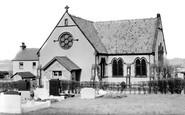 Peak Dale, Holy Trinity Church c1960