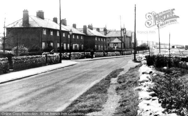 Peak Dale, School Road c1955