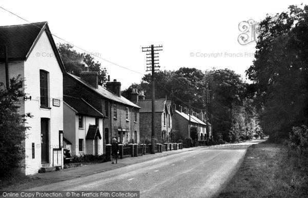 Peas Pottage, Brighton Road c1950