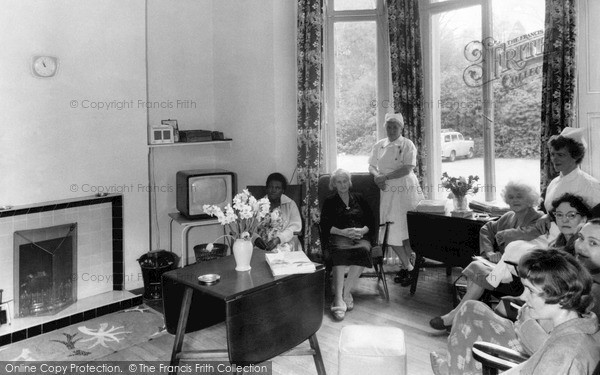 Peas Pottage, Upper Sitting Room, Woodhurst Hospital c1955