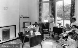Pease Pottage, Lower Sitting Room, Woodhurst Hospital c.1955