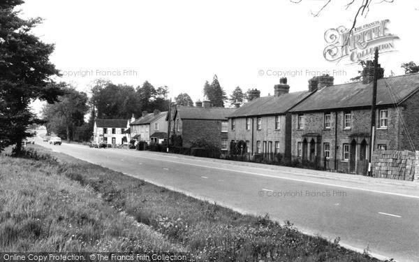 Peas Pottage, the Village c1955