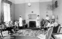 Pease Pottage, Upper Sitting Room, Woodhurst Hospital c.1955