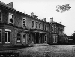 Pease Pottage, Woodhurst Hospital c.1950