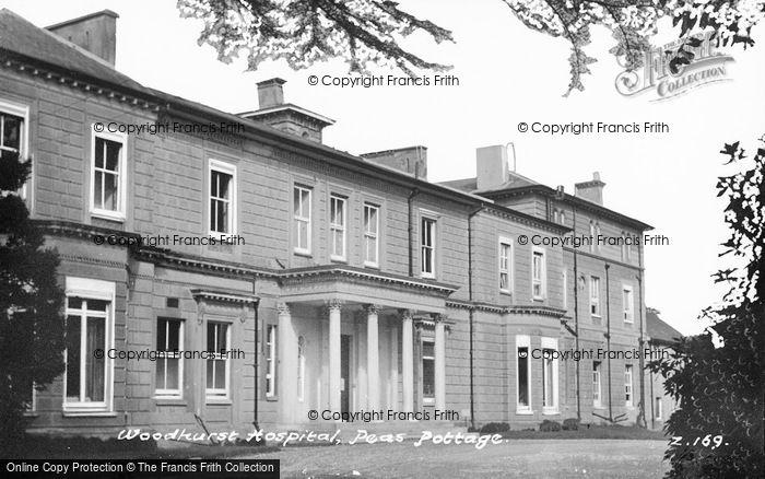 Photo of Pease Pottage, Woodhurst Hospital c.1955