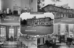 Pease Pottage, Woodhurst Hospital Composite c.1955