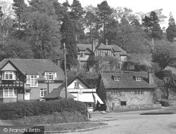 Peaslake, Forest Stores c.1955