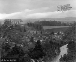 Peaslake, Recreation Ground From Radnor 1927