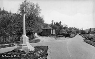 Peaslake, War Memorial 1922