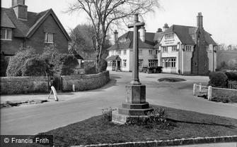 Peaslake, War Memorial and Hurtwood Inn 1927