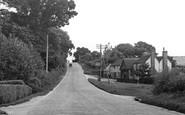 Peasmarsh, Cock Hill c1955