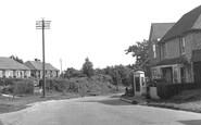 Peasmarsh, Post Office c1955