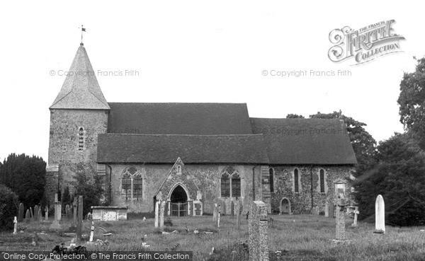Peasmarsh, the Church c1955