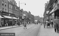 Peckham, Rye Lane c1955