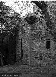 Peebles, Drochil Castle c.1960