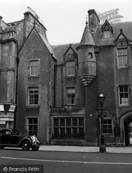 Peebles, Queensberry Lodging 1951