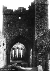 Peel, Castle, St German's Cathedral 1893