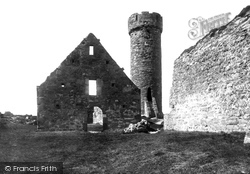 Peel, Castle, The Round Tower 1893