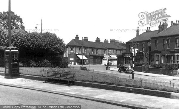 Peel Green, Peel Green Road c1955