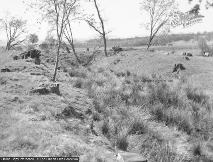 Photo of Peel Of Gartfarran, The Homestead Moat 1960