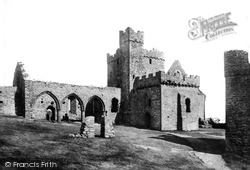 Peel, St German's Cathedral 1893