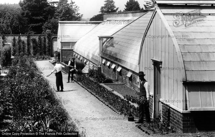 Photo of Pell Wall Hall, Gardeners 1911