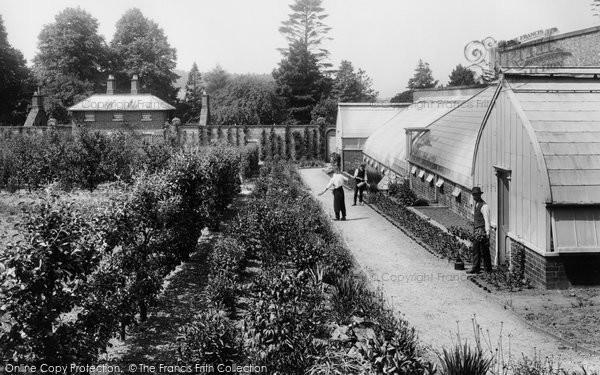 Photo of Pell Wall Hall, Kitchen Garden 1911